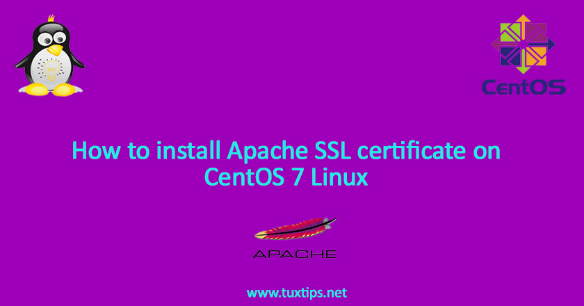 How to install Apache SSL certificate on CentOS 7 Linux