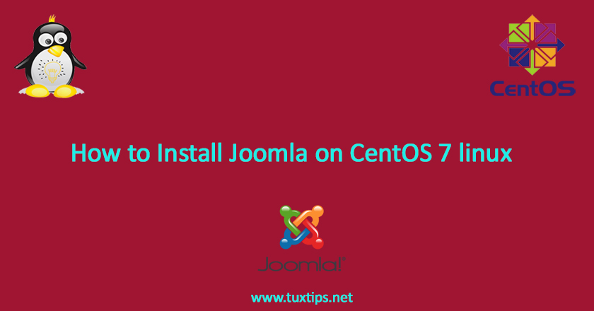 How to Install Joomla on CentOS 7 linux